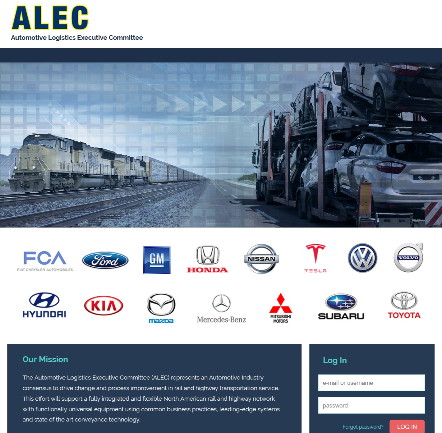 ALEC Info home page